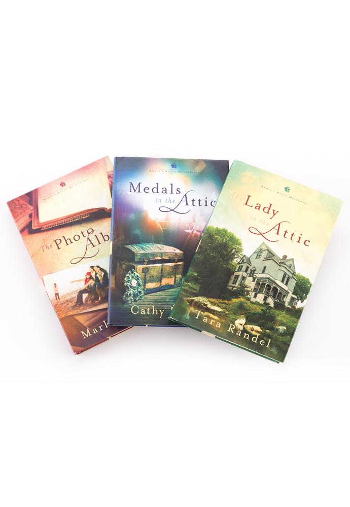 Annie's Attic Mysteries Bundles (3 books) photo