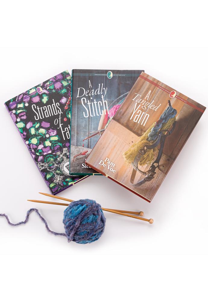 Knitter's Cozy Mystery Bundle photo