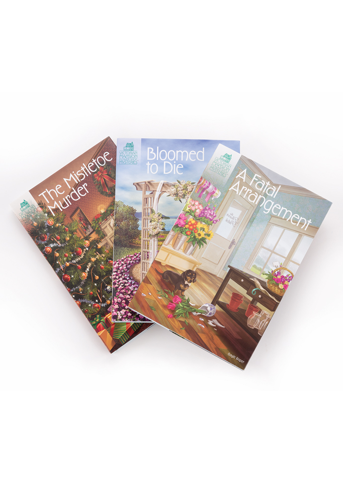 Victorian Mansion Flower Shop Mysteries Bundles (3 books) photo