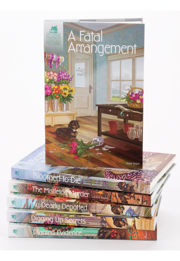 Victorian Mansion Flower Shop Mysteries Bundles (6 books) photo