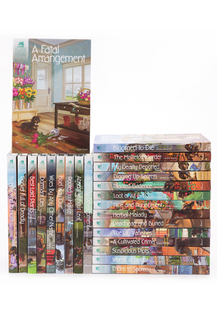 Victorian Mansion Flower Shop Mysteries Bundles (24 books) photo