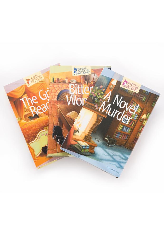 Secrets of the Castleton Manor Library Bundles (3 books) photo