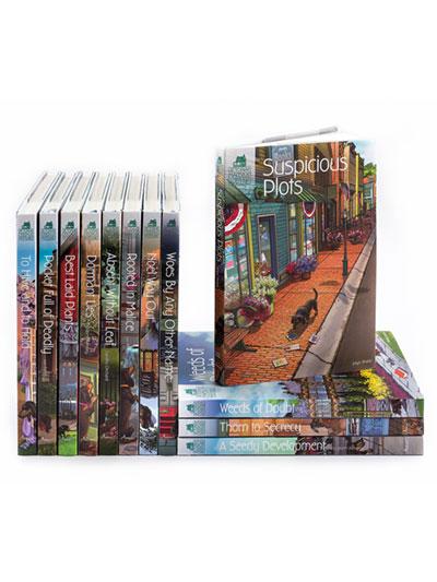 Victorian Mansion Flower Shop Mysteries 12-Book Bundle: Series 2 photo