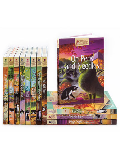 Secrets of the Castleton Manor Library 12-Book Bundle: Series 2 photo